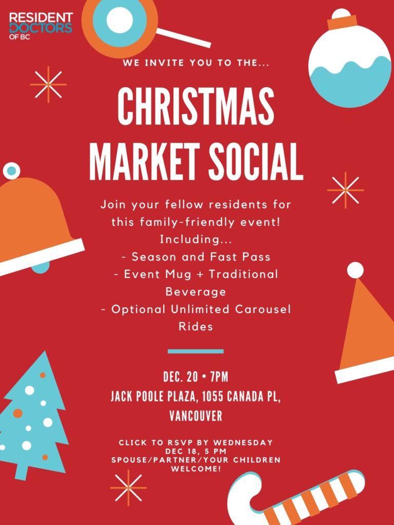 RDOBC's 2019 Christmas Market Social!